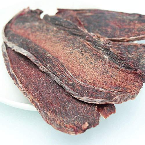 エゾ鹿スライスジャーキー 北海道産 無添加・無着色・無香料 天然エゾシカ鹿肉 ドッグフード 犬のおやつ 200g