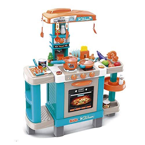 Tachan- Cocina My Kitchen Chef con Luz y Sonido, Color Azul (CPA 723008938A)