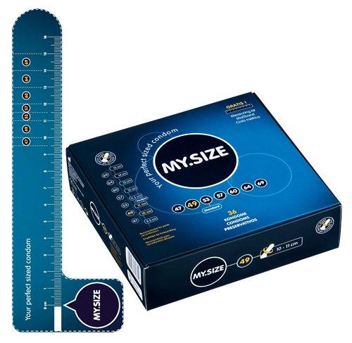 Transparente, hauchzarte Kondome. 49 mm /Kondome , Kondome, Geprüfte Sicherheit, ein sicheres Verhütungsmittel