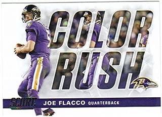 2017 Panini Score Football Color Rush #10 Joe Flacco Ravens