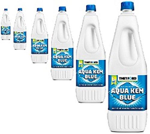 Thetford Aqua KEM Blue 2L X6un