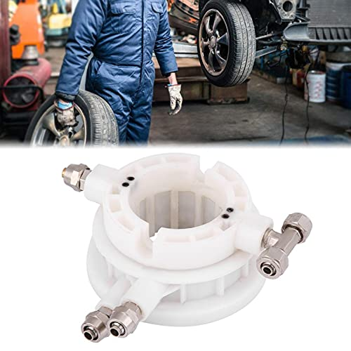 Válvula de aire giratoria, cambiador de llantas Válvula giratoria Llanta Cambiador de llantas Pieza Acoplador giratorio Válvula de control de aire de acoplamiento 49 mm Se adapta a un diámetro de eje