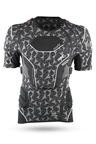 Leatt Kurzarm Protektionshemd Body Tee 3DF AirFit Lite Schwarz Gr. XXL