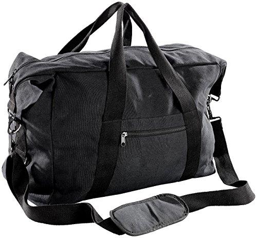 Xcase bordcase: Canvas borsa da viaggio nel formato Bagaglio a mano, 44litri, 55x 40x 20cm (Bagaglio a mano valigia da viaggio)