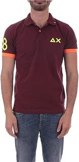 SUN 68 Luxury Fashion Mens A3011641 Purple Polo Shirt | Spring Summer 20