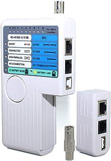 Remoto RJ11 RJ45 USB BNC LAN probador de cable de red para UTP STP LAN Cables Tracker