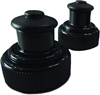 2 Pack Push-Pull Replacement Lid Set for All The Runtasty 10 oz Hydration Fuel Belt Bottles!