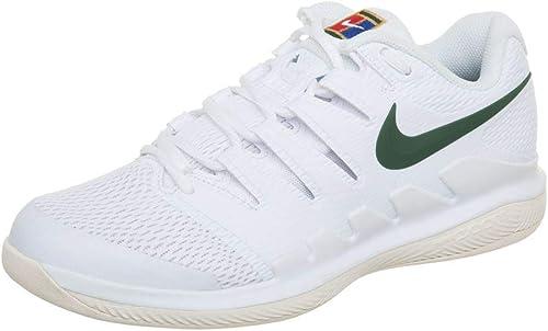 Nike WMNS Air Zoom Vapor X CPT, Chaussures de Tennis Femme, MultiCouleure (blanc Gorge vert-Light Cream 100), 36.5 EU