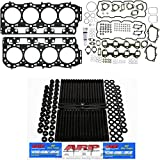 ARP Studs and Complete MAHLE Head Gasket Kit with Grade 'C' Head Gasket - Fits GM Chevy Chevrolet LB7 Duramax 6.6 6.6L Diesel 2001-2004 - DK Engine Parts (ARP Head Set)