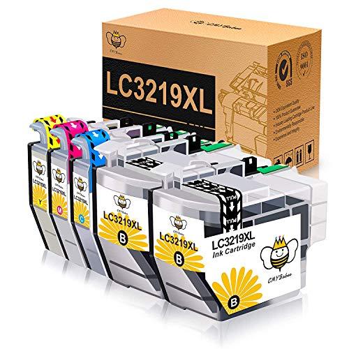 CMYBabee Kompatible Tintenpatronen für Brother LC-3219XL LC3217 Ersatz für Brother MFC-J5330DW MFC-J5335DW MFC-J5730DW MFC-J5930DW MFC-J6530DW MFC-J6930DW MFC-J6935DW-Drucker (5 Pack)