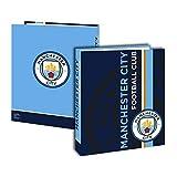 Manchester City Carpeta cartón Mixta niño, Rojo, 4cm
