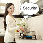 perlo33ER Transparente Anti-vaho Anti-Oil Splatter Full Face Shield Máscara Protector de cocina - Co... #2