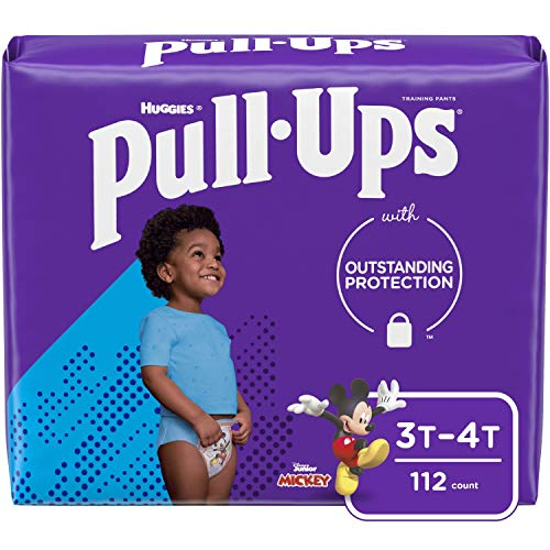 Pull-Ups Learning Designs Boys' Training Pants, 3T-4T, 112 Ct