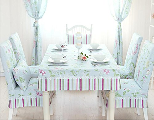 Nappe, ensembles de bureau en tissu, rev¨ºtements de jardin, table fixe costume,130*80CM