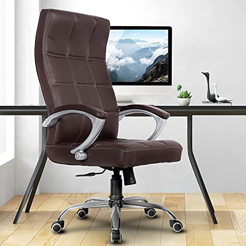 Green Soul Ace High Back Leatherette Dynamic Chair (Brown)