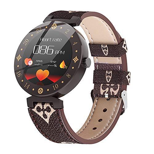 promise2301 R98 Smart Watch voor mannen IP67 waterdicht apparaat hartslagmeter kleurenscherm sporthorloges, koffie