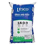 Lesco Professional Siteone Landscape Supply 080257 Weed & Feed Turf Fertilizer, 18-0-9 Formula, 50-Lbs,13,000-Sq. Ft. - Quantity 1