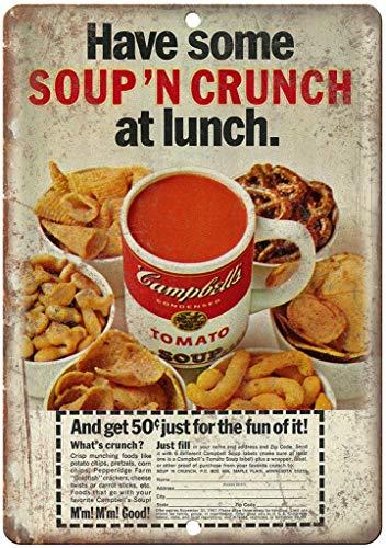 Hslly Campbell Tomato Soup Vintage Blechschilder Dekoration Vintage Metall Stil Schild Retro Aluminium Poster Für Cafe Bar Film Geschenk Hochzeit Geburtstag