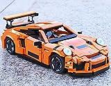 Brigamo Bausteine Auto Turbo GT Sportwagen , 1075 Klemmbausteine