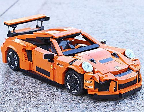 Modbrix Bausteine Auto Turbo GT Sportwagen , 1075 Klemmbausteine