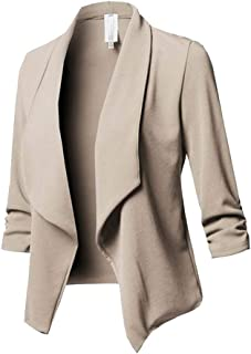 official photos d161f 87366 Amazon.it: Beige - Giacche da abito e blazer / Tailleur e ...
