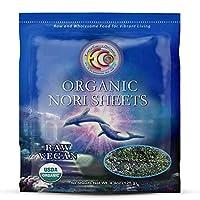Earth Circle Organics - 生認定有機海苔 Sheets - 50シート
