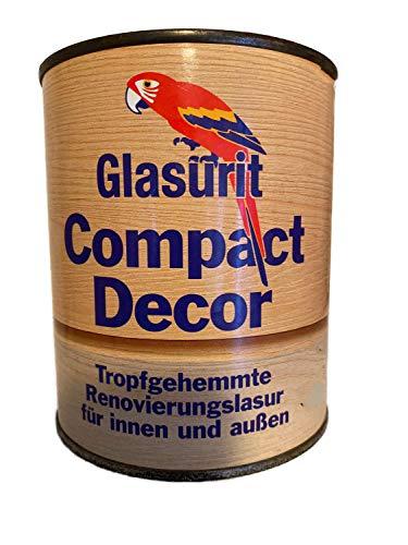 Glasurit Compact Decor - Vernice satinata per riparazioni, per interni ed esterni, 2,5 l