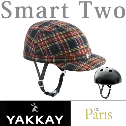 Yakkay - Paris Blue Red - Cover - M (ohne Helm)