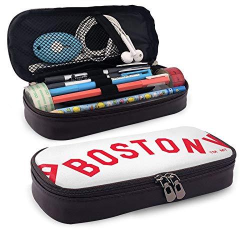 Bost-on - Trousse rectangulaire rouge So-x - Pour enfants, adolescents, filles, garçons, hommes et femmes