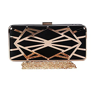 Chichitop Women's Exquisite Hollow Design Evening Clutch Handbag Formal Clutch Purse