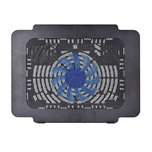 Ventilador de enfriamiento para computadora portátil, soporte para enfriador de computadora portátil para juegos de 14 pulgadas Diseño ergonómico Bandeja de enfriamiento para computadora portátil Desm