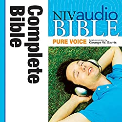 in budget affordable Pure Voice Audio Bible – New International Version of the Bible, NIV (narrated by George Sarris): Completely …