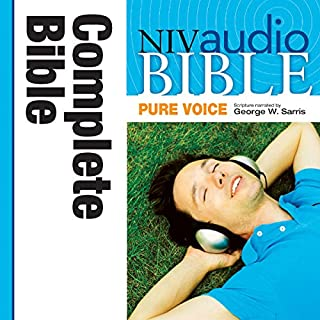 NIV Audio Bible, Pure Voice  cover art