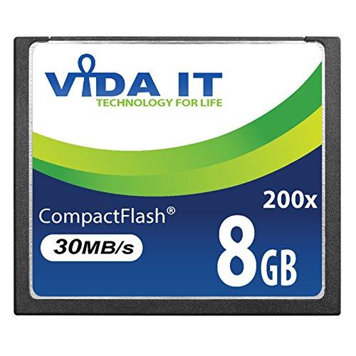 New 8GB ad alta velocità 200x scheda di memoria CF Compact Flash per Canon EOS 10D EOS 20D EOS 20Da EOS 300D EOS 30D EOS 350D EOS 400D EOS 40D EOS 50D EOS 5D EOS 5D Mark II EOS 7D EOS D30fotocamera digitale reflex UK