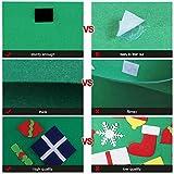 COOFIT Filz Weihnachtsbaum,Weihnachten Deko 3.2ft DIY Filz Weihnachtsbaum Set mit 28 Pcs Deko Weihnachten Weihnachtsspiel Kinder Spielzeug - 8