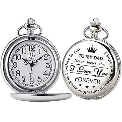 Pocket Watch Men Personalized Chain SIBOSUN Qua...