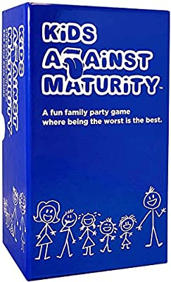 Kids Against Maturity: Card Game for Kids and Families, Super Fun Hilarious for Family Party Game Night from El El Sea