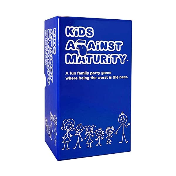 Kids Against Maturity: Card Game for Kids and Families, Super Fun Hilarious for Family...