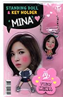 韓国 K-POP ☆TWICE トゥワイス MINA ミナ☆ スタンディングドール & キーホルダー