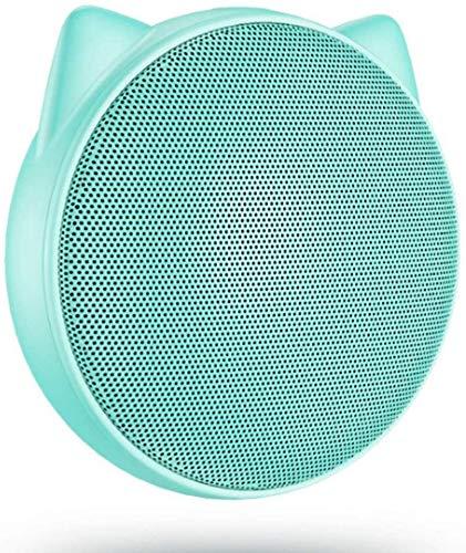 Mopoq Bluetooth Lautsprecher - Wireless Mini Compact Audio Tragbare Portable Player Außerhalb Handy-Verstärker-Computer im Freien Audio Creative-Lautsprecher (Color : Blau)