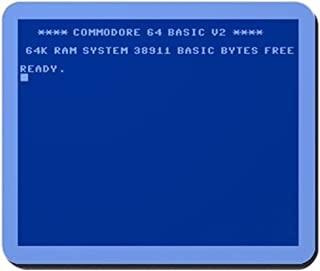 Commodore 64 - Non-Slip Rubber Mousepad, Gaming Mouse Pad 1822cm