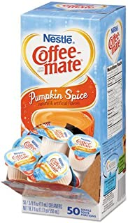 Nestle 75520 Liquid Coffee Creamer, Pumpkin Spice, 3/8 Oz (11ml)