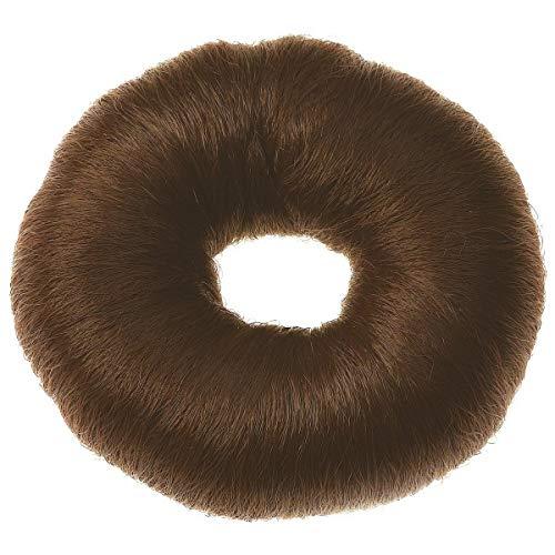 Sibel - Chignon Rond 9 Cm Brun Coton