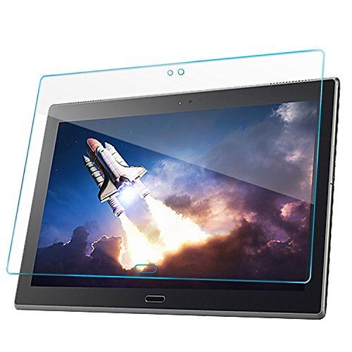 Lenovo Tab 4 10 Plus 10.1 inch Screen Protector - Tempered Glass Screen Protector Guard Cover Film (High Definition) (Bubble Free) for Lenovo Tab 4 10 Plus