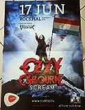 Ozzy Osbourne–Scream–50x 70cm zeigt/Poster