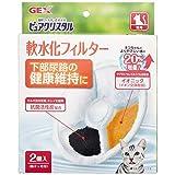 ジェックス ピュアクリスタル 軟水化フィルター 猫用 2個入×3個