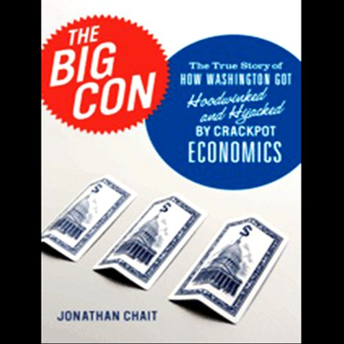 The Big Con audiobook cover art
