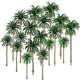 Hestya 30 Piezas de Modelo Árbol de Palmera de Cocos Árboles de...