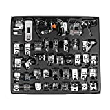 DDSKY Domestic Sewing Machine Presser Foot Set Tool Durable and Professional for Janome,Brother,Singer,New Home,etc (42pcs)
