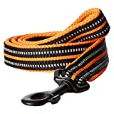 PADDED SOFT MESH - Soft interior nylon webbing with mesh padding creates a higher comfort for canine's necks - reducing addictive scratching. 3M REFLECTIVE MATERIAL - Nylon Webbing with 3M Reflective Material ensures up to 230 yards of night visibili...